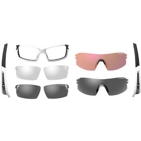 Tifosi Escalate SF - Lunettes cyclisme Homme - blanc/argent